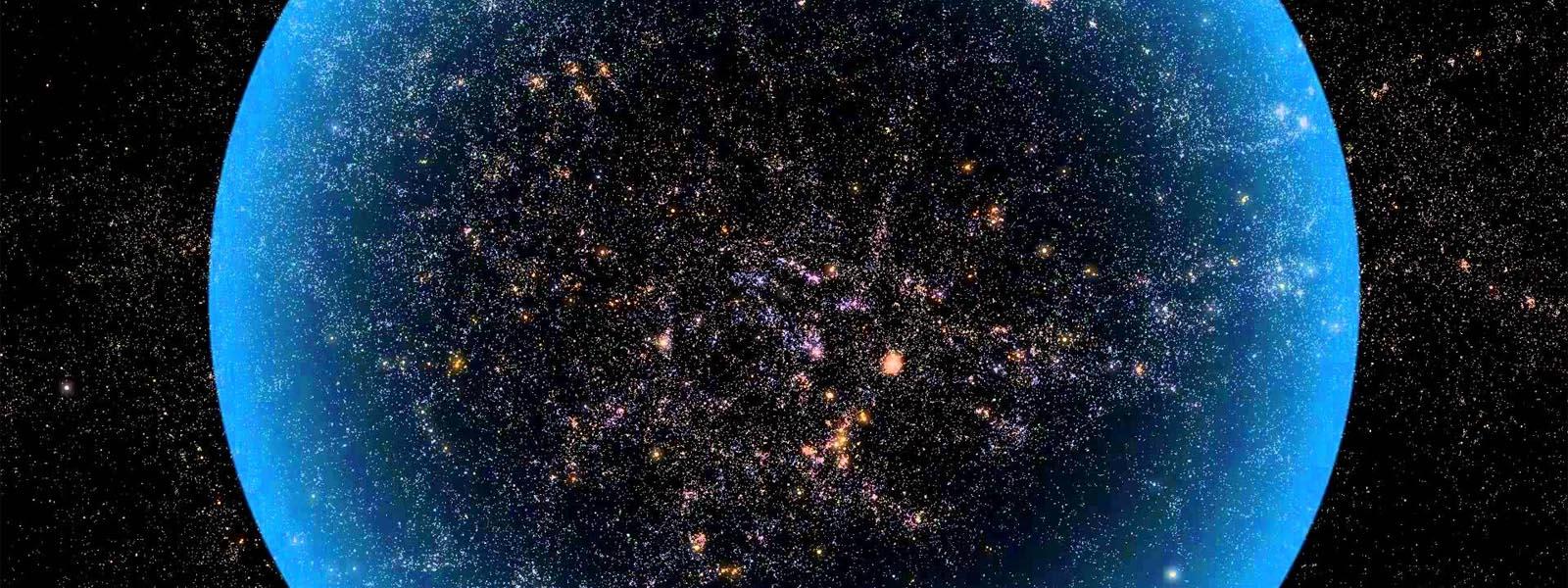 Dlaczego wszechświat ma 92 mld lat świetlnych średnicy?