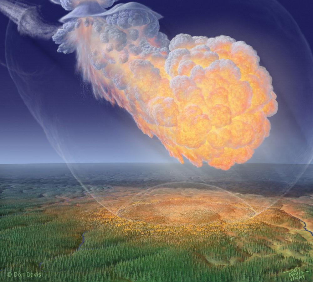 Co wybuchło nad Tunguzką?