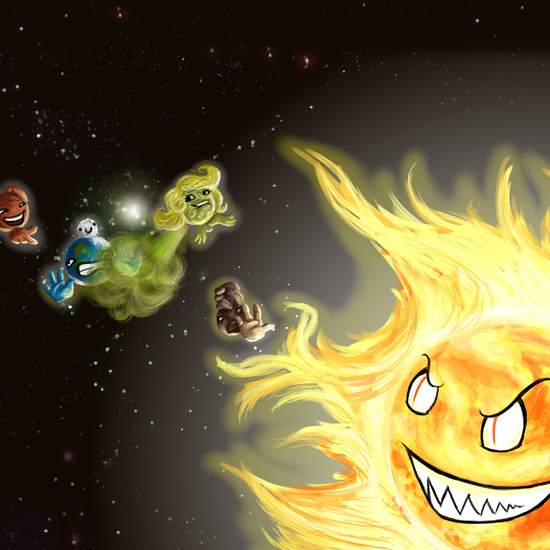 Nieprzewidywalny Układ Słoneczny