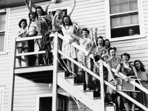 Kobiety również pracowały wOak Ridge iLos Alamos