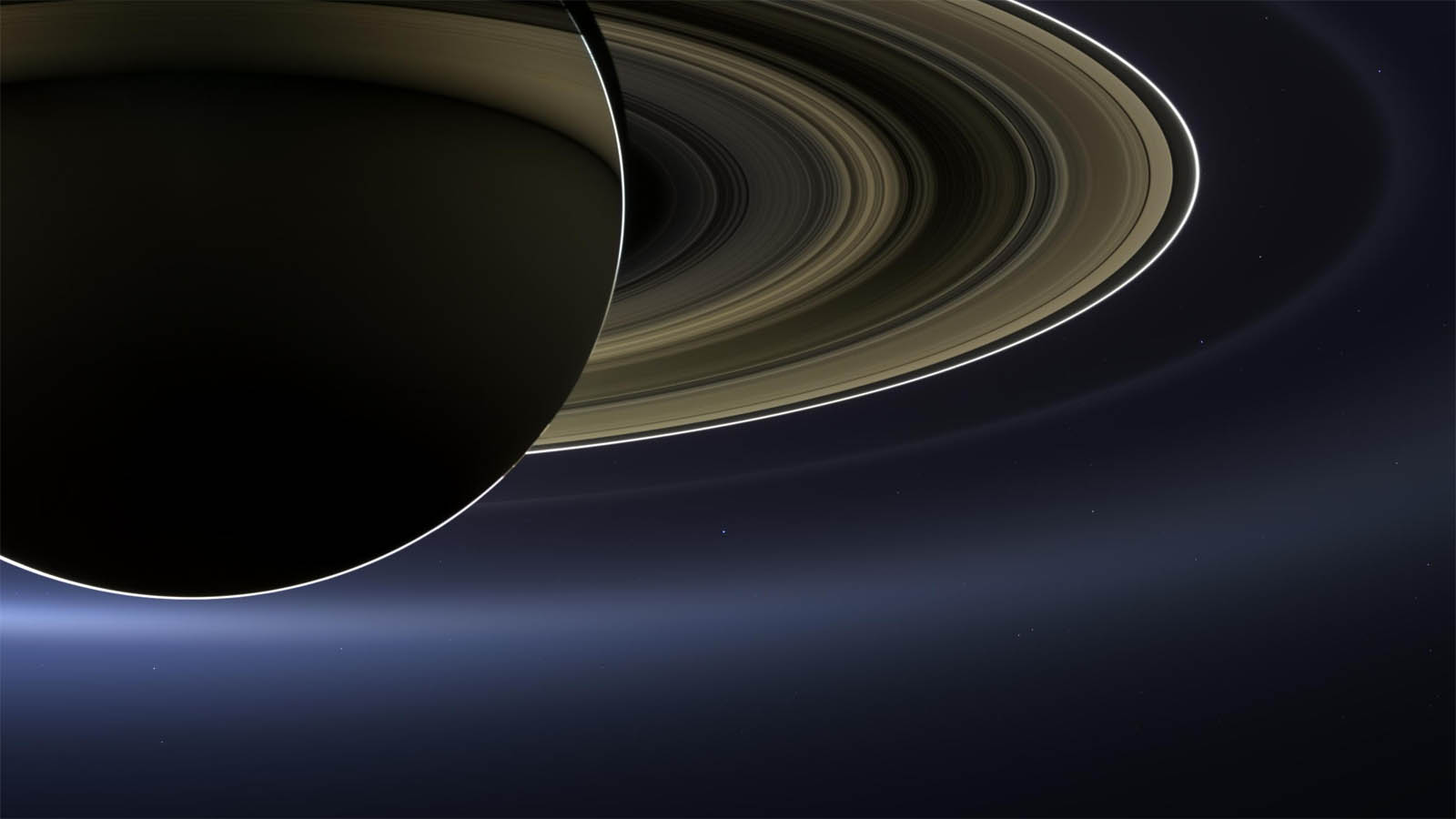 saturn blue dot cassini