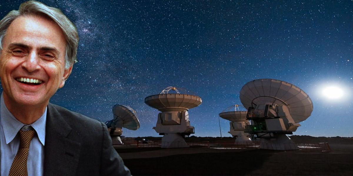 Podążając zaSaganem: kosmiczne pieniądze wyrzucane wbłoto?
