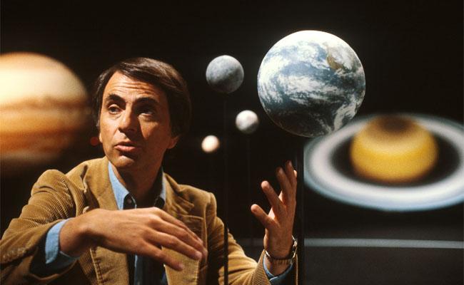 Wielki popularyzator nauki - Carl Sagan