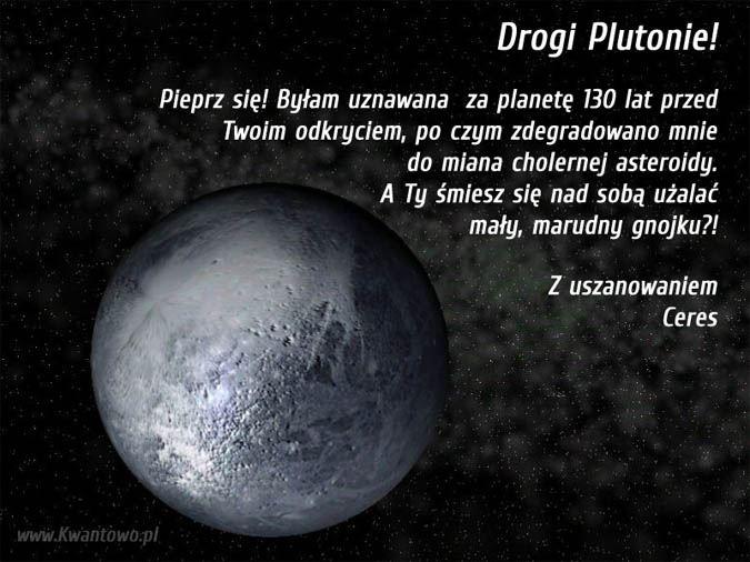drogi plutonie