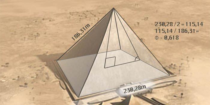 Wymiary Wielkiej Piramidy Cheopsa