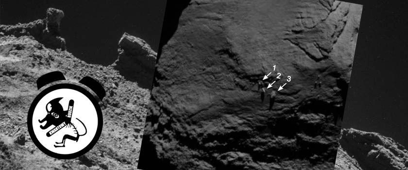 KB #21: Nietypowe głazy na komecie 67P