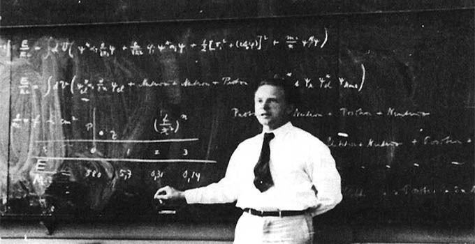 Werner Heisenberg, twórca zasady nieoznaczoności