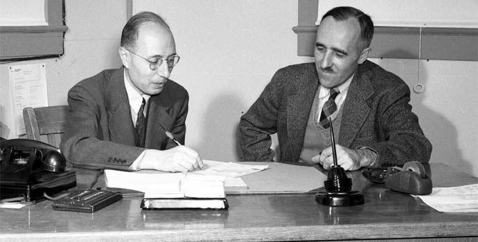 Eugene Wigner w 1944 roku.
