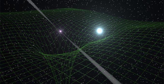 W ogólnej teorii względności masa zakrzywia czasoprzestrzeń