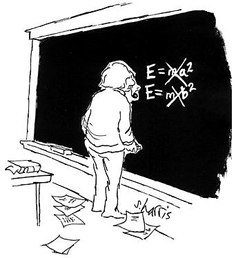 Einstein formułuje wzór E=mc2