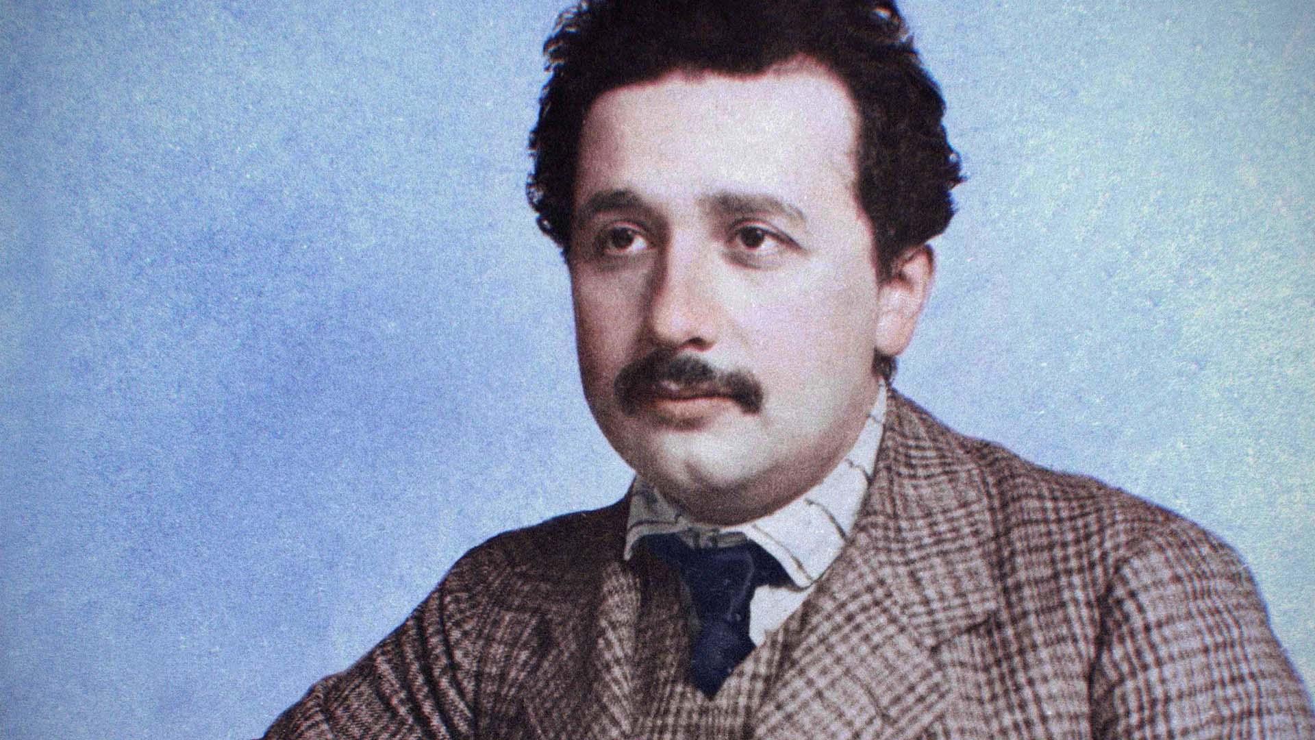Młody Albert Einstein