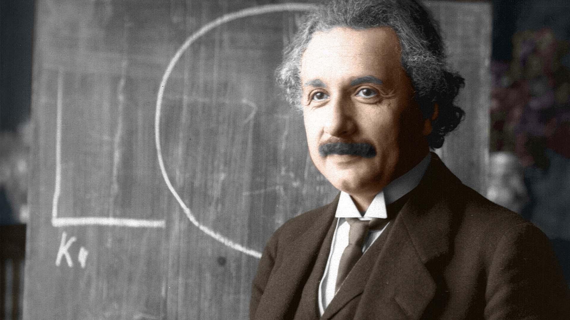 Albert Einstein, twórca OTW