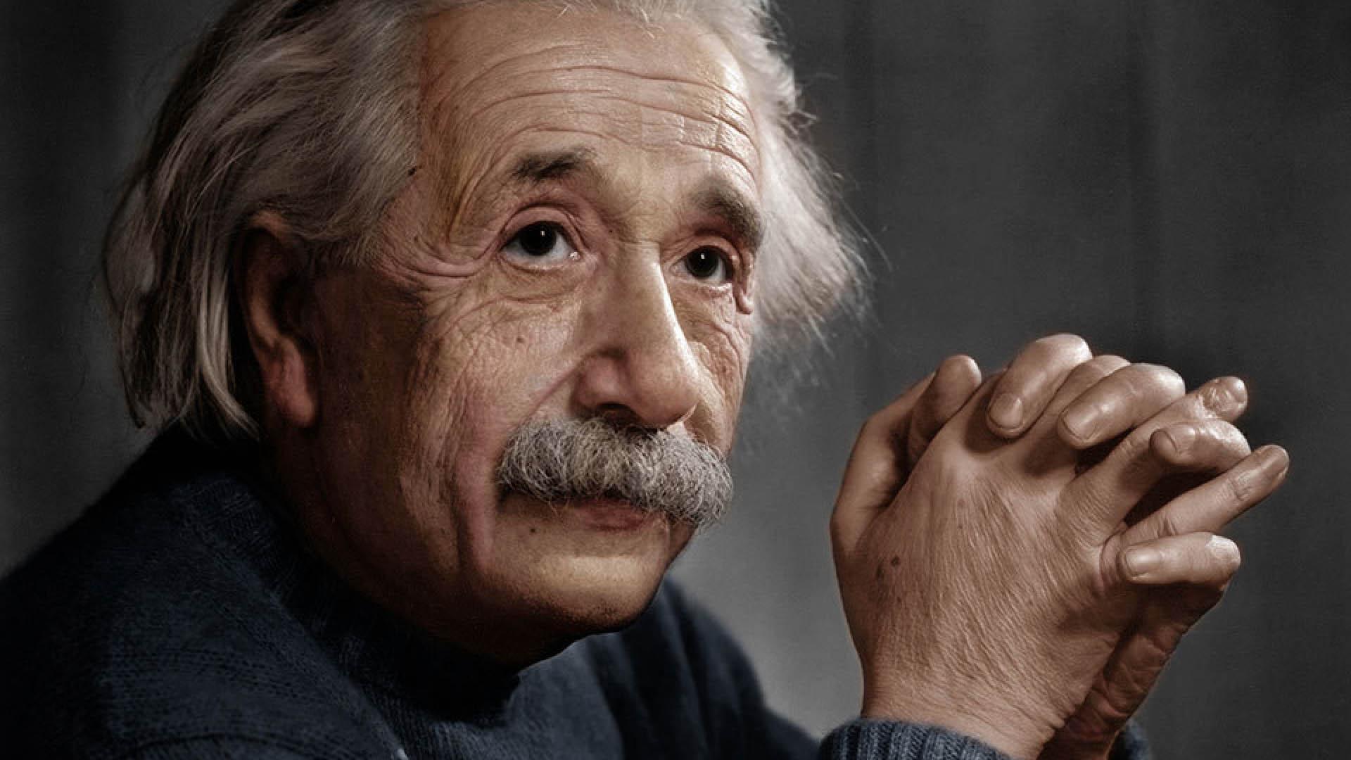 Stary Albert Einstein