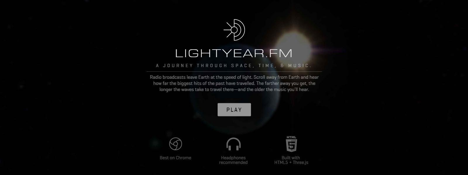 Wszechświat nas słyszy! LightYear.fm