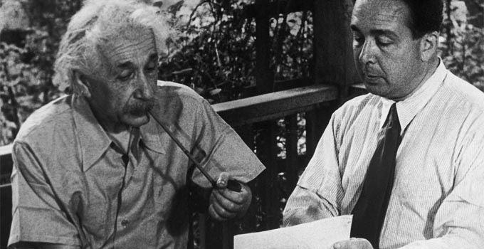 Albert Einstein i