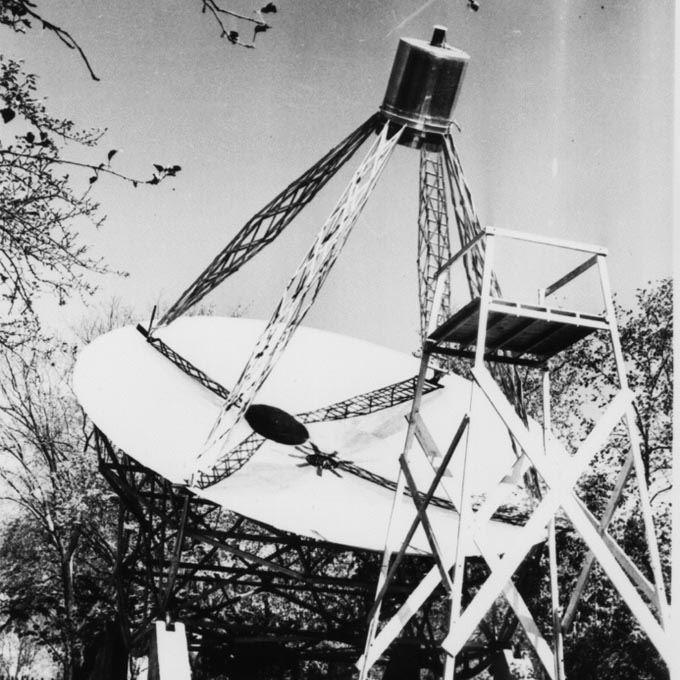 Radioteleskop niejest wynalazkiem Tesli