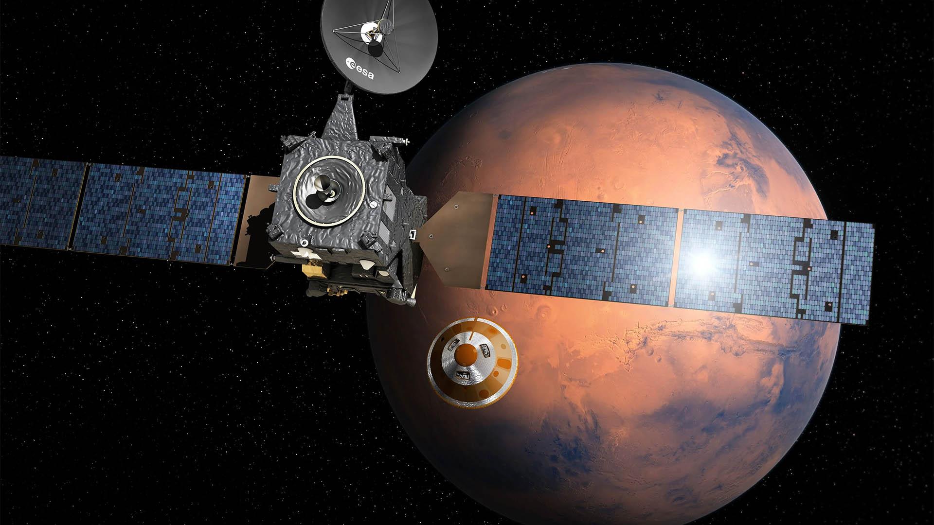 Ile może trwać wyprawa na Marsa?