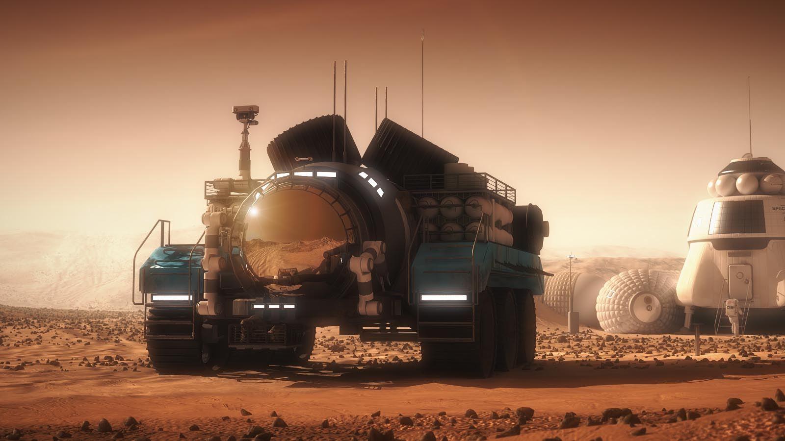 Mars w 7 krokach
