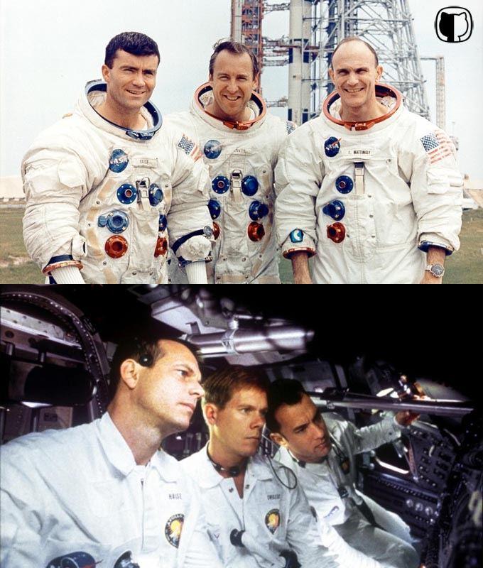 Porównanie załóg zfilmu imisji Apollo 13