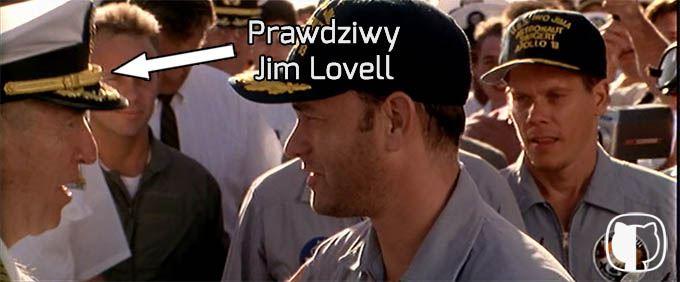 Jim Lovell, dowódca załogi Apollo 13