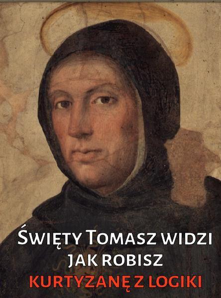 Święty Tomasz patrzy