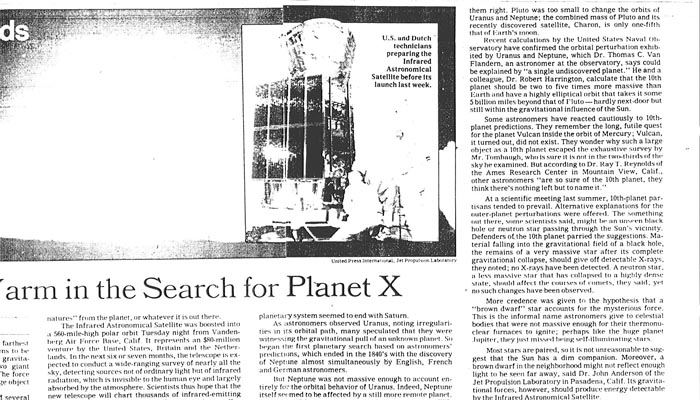 lowell planet x