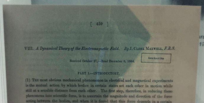 Dynamiczna teoria pola elektromagnetycznego