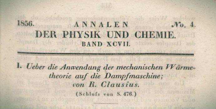 o zmodyfikowanej postaci drugiego fundamentalnego prawa mechanicznej teorii ciepła