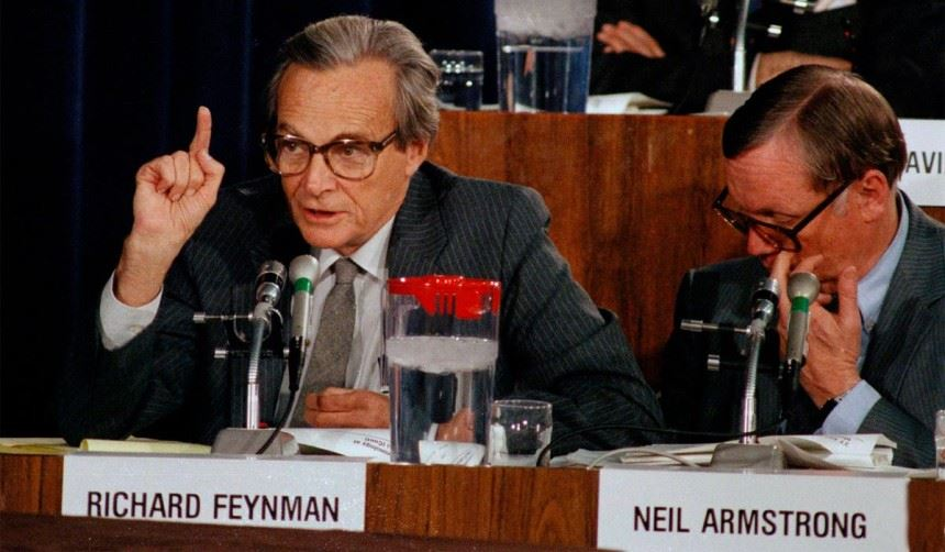Detektyw Feynman ikatastrofa Challengera
