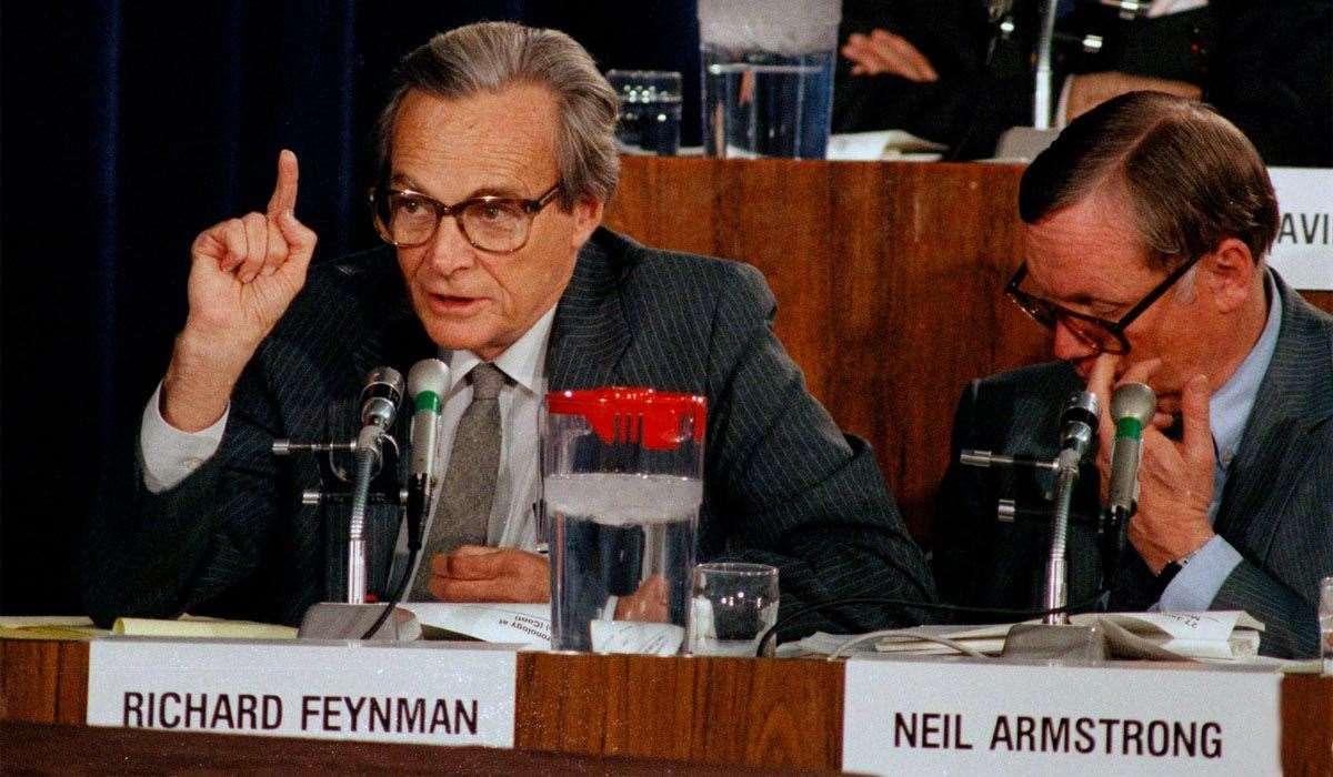 Detektyw Feynman i katastrofa Challengera