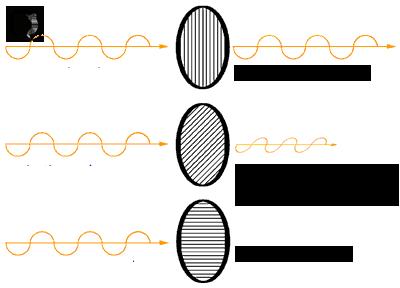 Polaryzacja światła przezpolaryzator