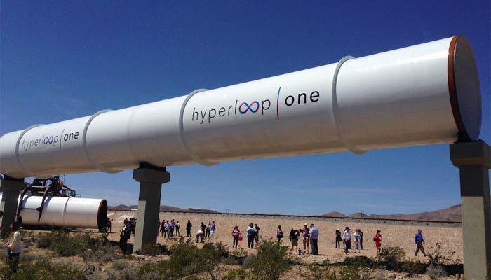 Prototyp tunelu hyperloopu.