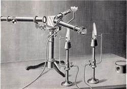 Spektroskop Bunsena iKirchhoffa