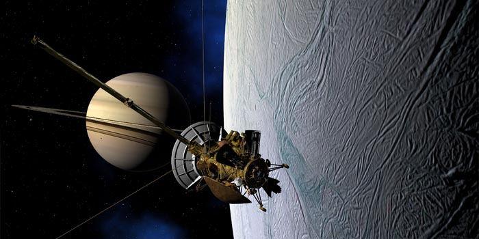 Sonda Cassini wukładzie Saturna