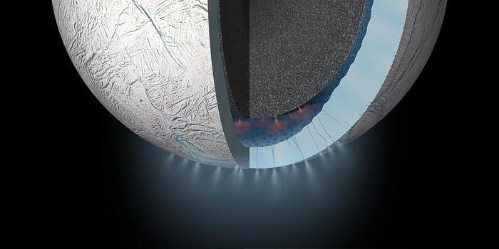 Co kryje się podpowierzchnią Enceladusa?