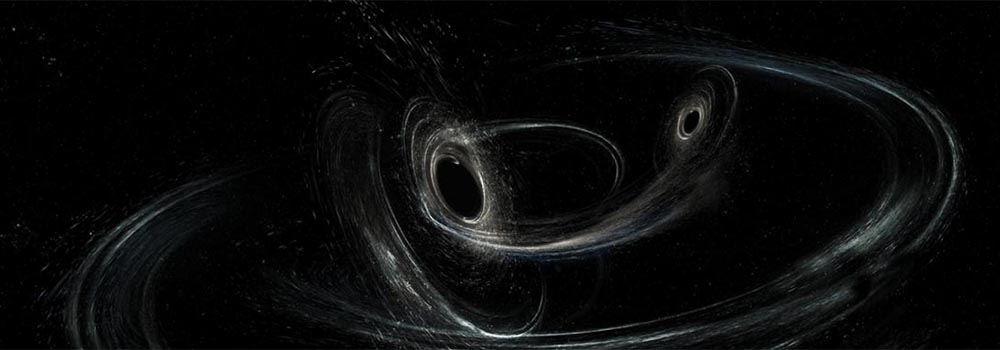 Zderzenia czarnych dziur mogą generować fale grawitacyjne