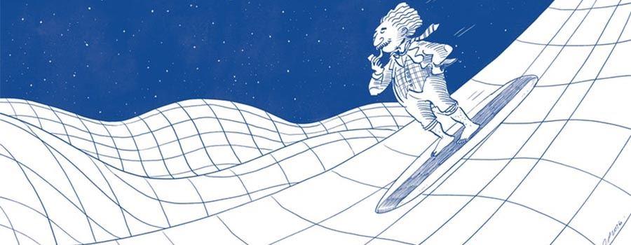 Ogólna teoria względności Einsteina jest podstawą dla fal grawitacyjnych