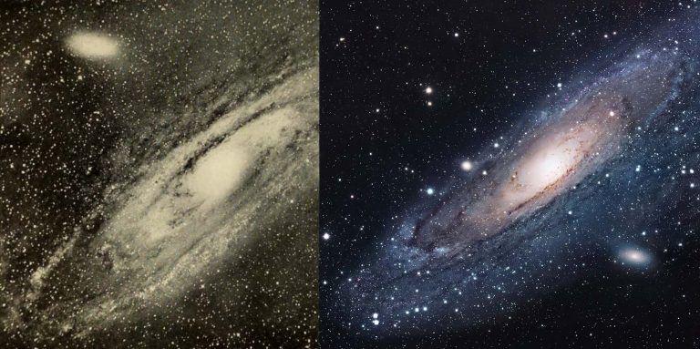 Kiedyś i dziś. Fotografie unaoczniające, jak rozwinęła się astronomia