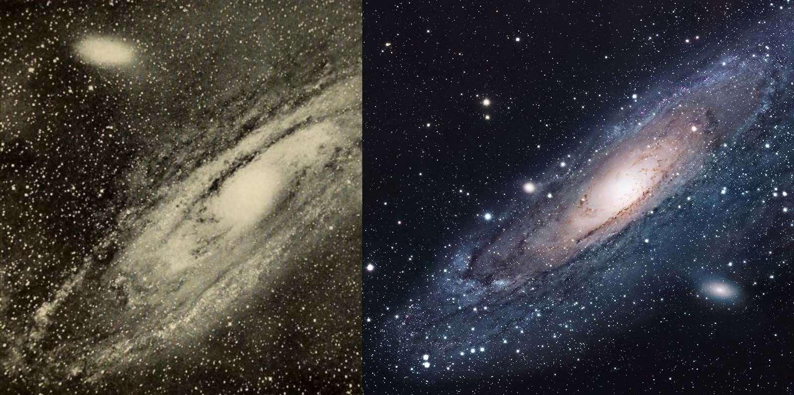andromeda galaktyki2