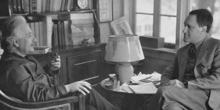 Leopold Infeld wtowarzystwie Alberta Einsteina