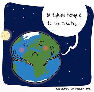 Masa naszej planety się zmienia
