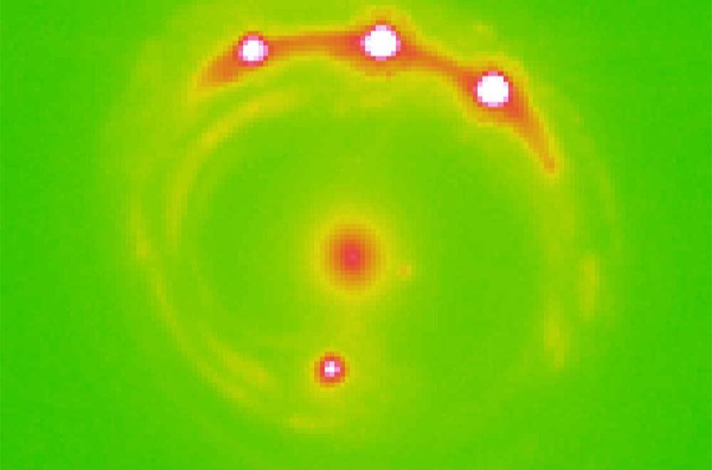 Odkryto planety wgalaktyce RX J1131-1231