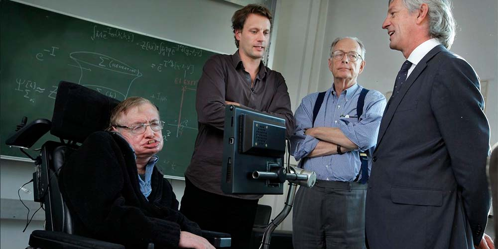 Stephen Hawking iJim Hartle