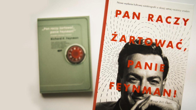 """""""Pan raczy żartować, panie Feynman!"""" – konkurs!"""