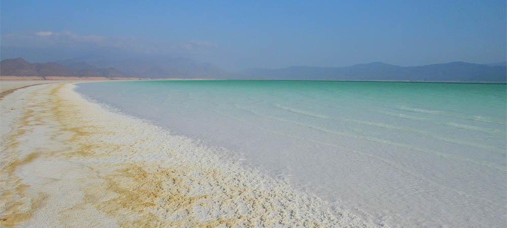Zasolenie Jeziora Assal