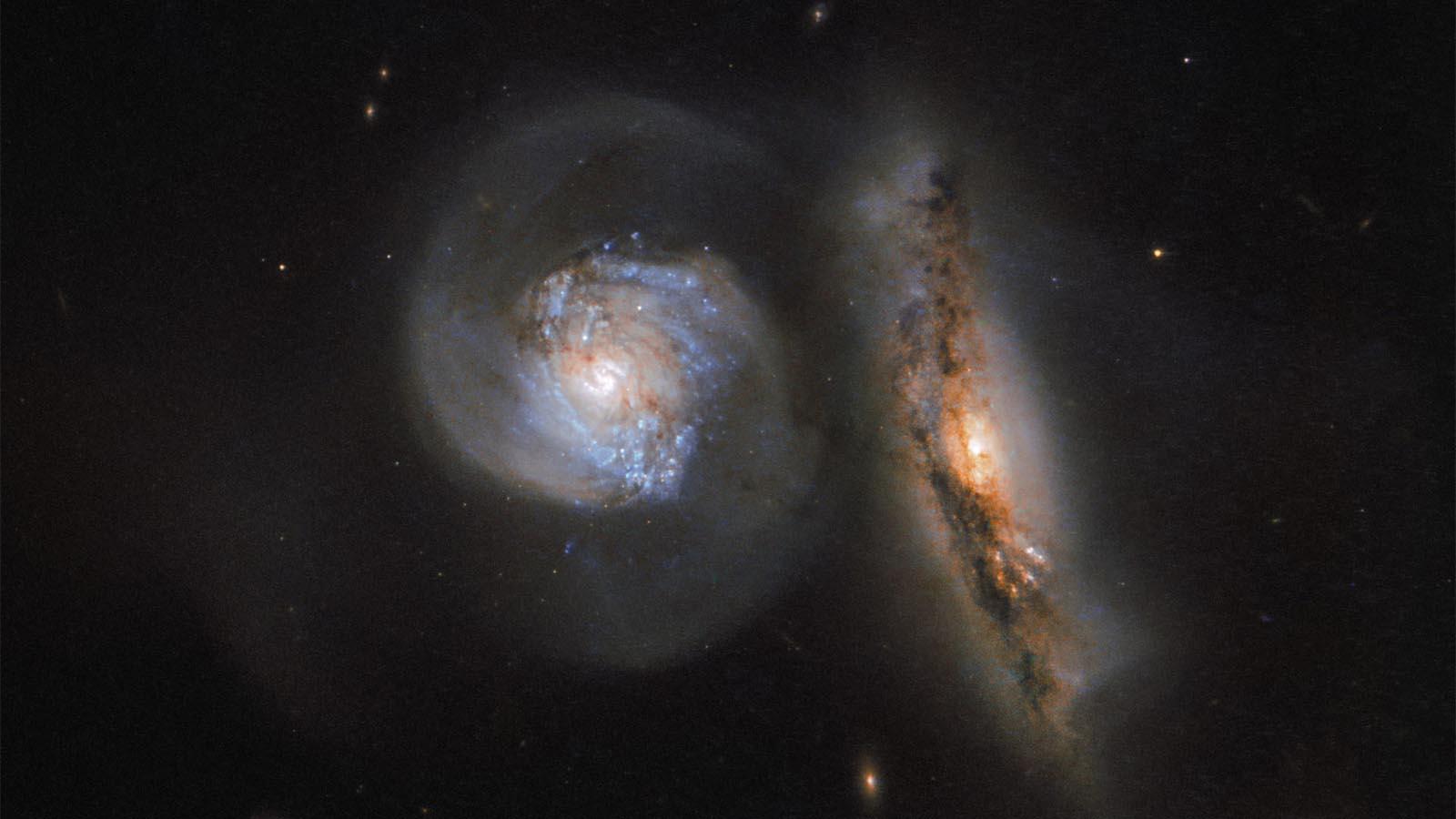 dwie galaktyki