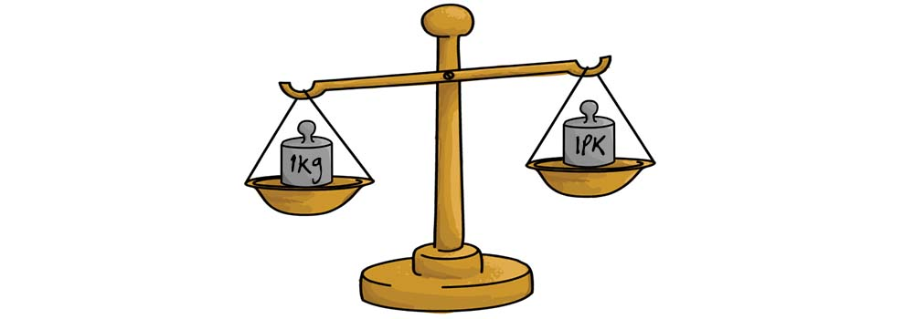 Wzorzec kilograma przestał ważyć kilogram
