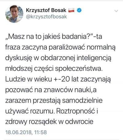 Krzysztof Bosak ibadania
