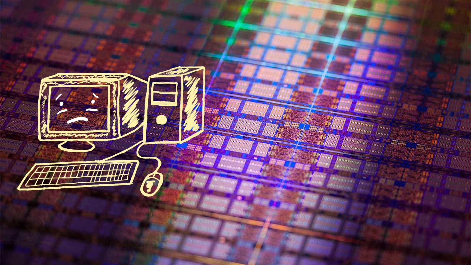 procesor tranzystor