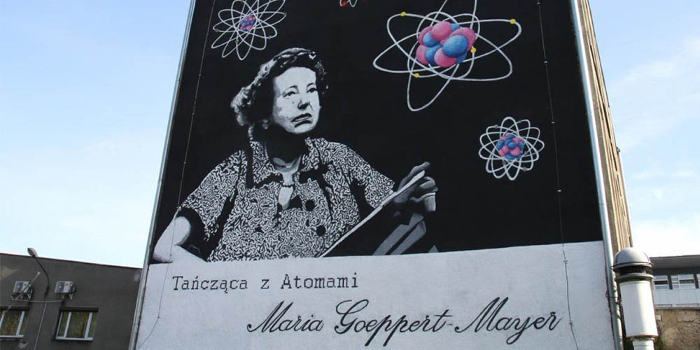 Maria Goeppert-Mayer wKatowicach